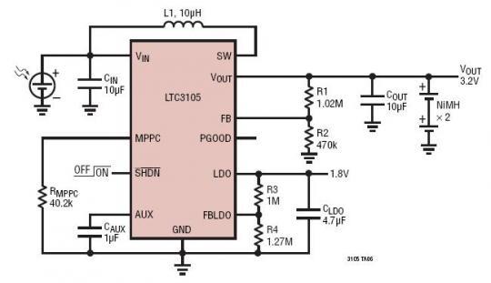 光伏dcdc转换器电路图