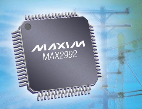 Maxim推出基于OFDM的电力线通信(PLC)调制解调器