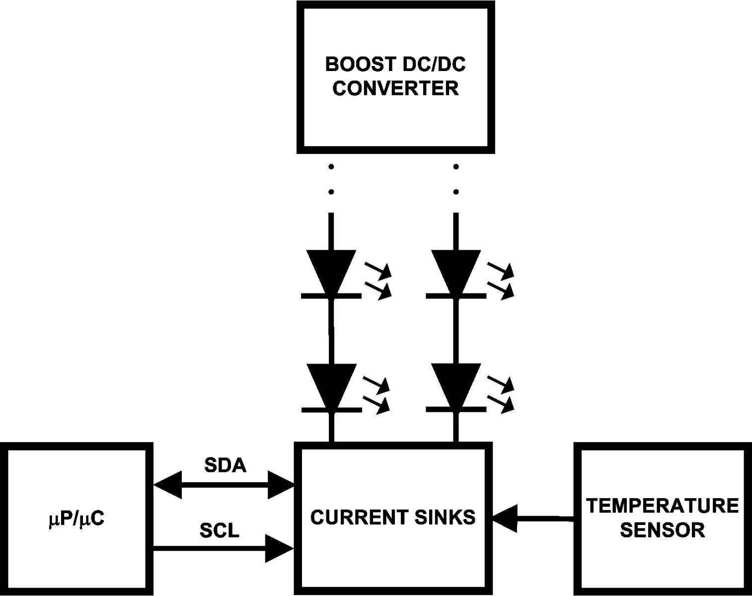 大功率led驱动升压电路图