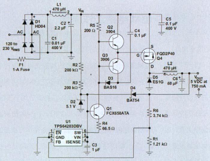 技术应用 非隔离式AC DC降压转换器在智能电表中的应用图片