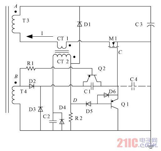 同步整流方案的电路结构