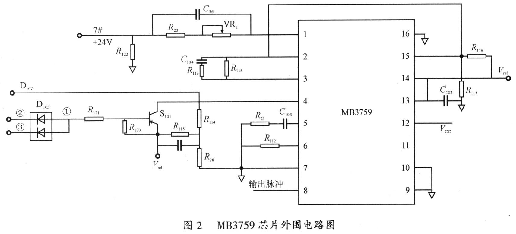 pwm比较器和锁存器及驱动电路组成.