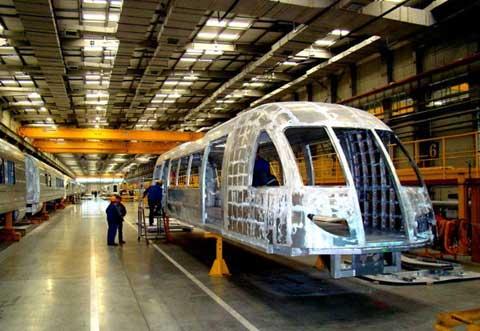 磁县浮列车结构图