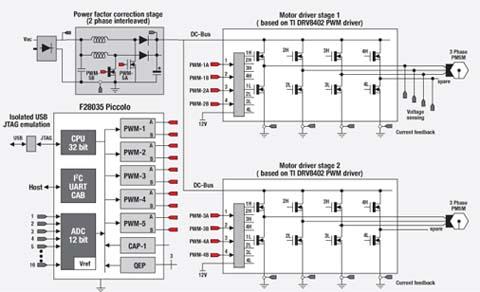 电机双重联锁带指示灯电路图