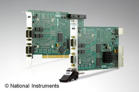 NI扩展NI-XNET嵌入式网络平台,添加对LIN通信总线的支持