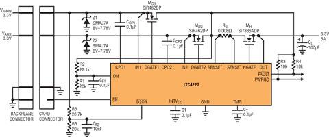 开机电路说明及板卡电路图