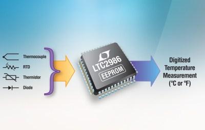 凌力尔特公司推出高性能数字温度测量 ic ltc2986