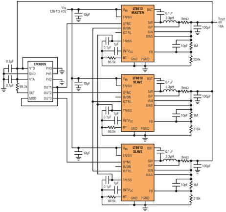三相负载控制电路图
